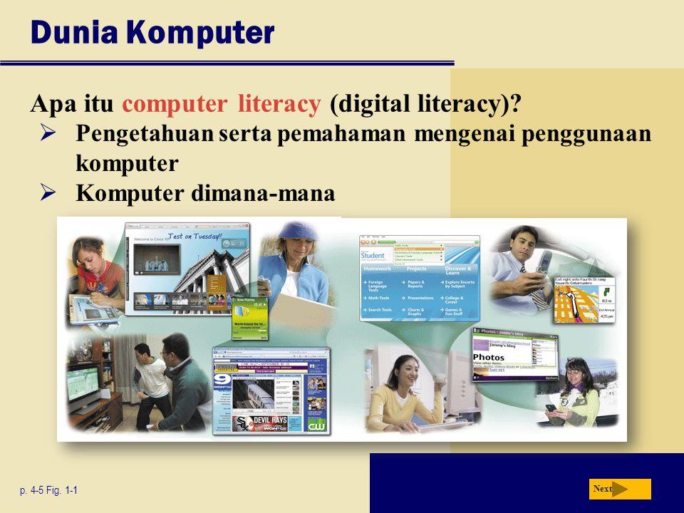 Dunia Komputer Apa itu computer literacy (digital literacy)