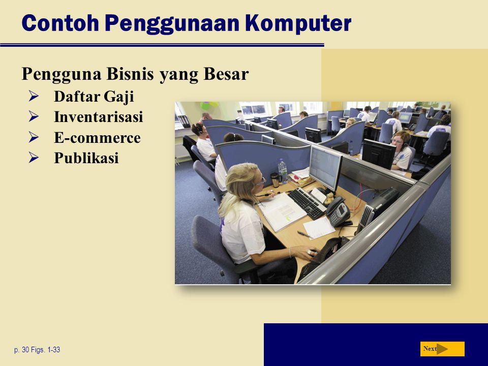Contoh Penggunaan Komputer