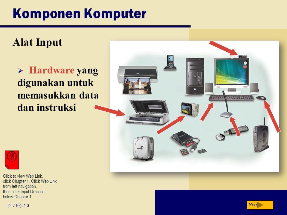 Komponen Komputer Alat Input