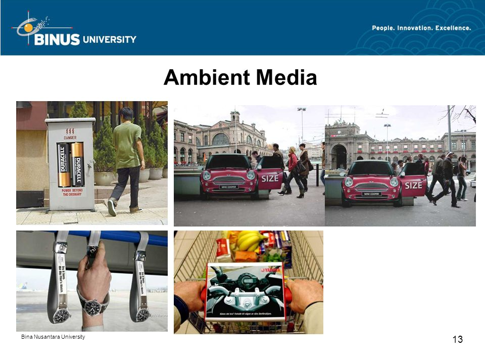Ambient Media Bina Nusantara University