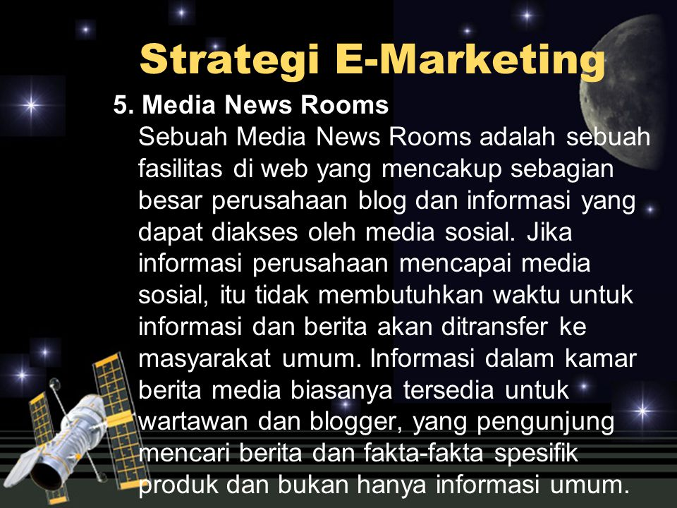 Strategi E-Marketing