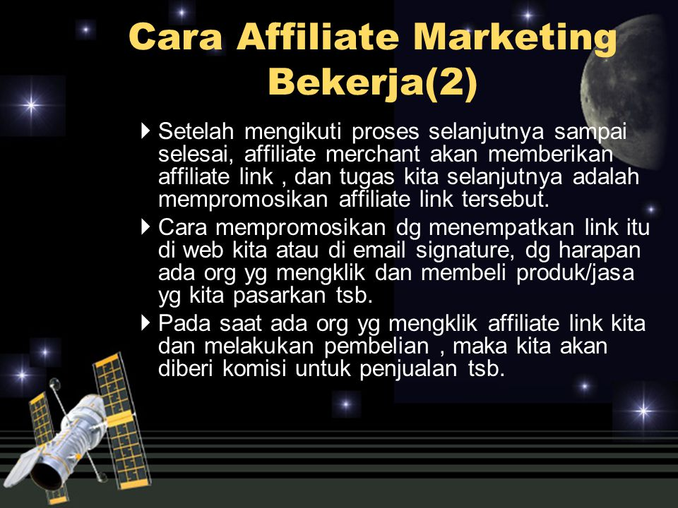 Cara Affiliate Marketing Bekerja(2)