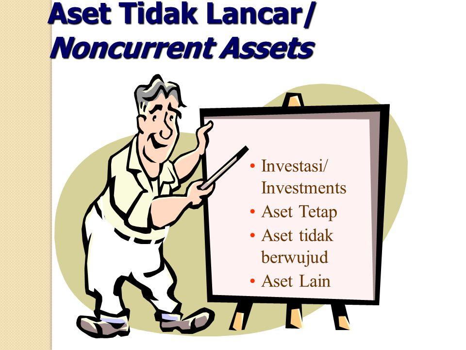 Aset Tidak Lancar/ Noncurrent Assets