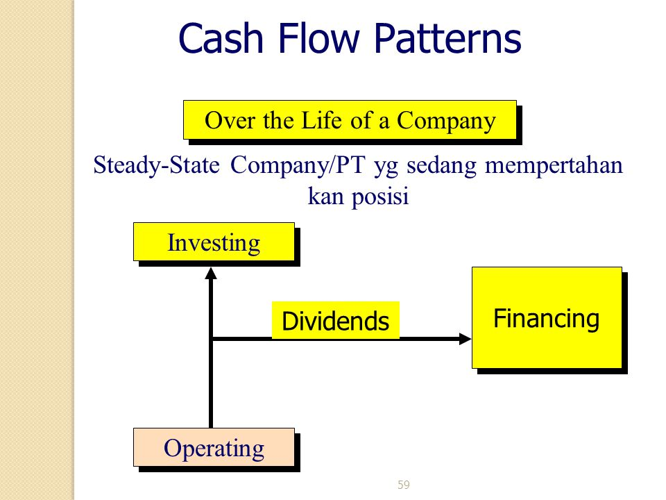Cash Flow Patterns Over the Life of a Company