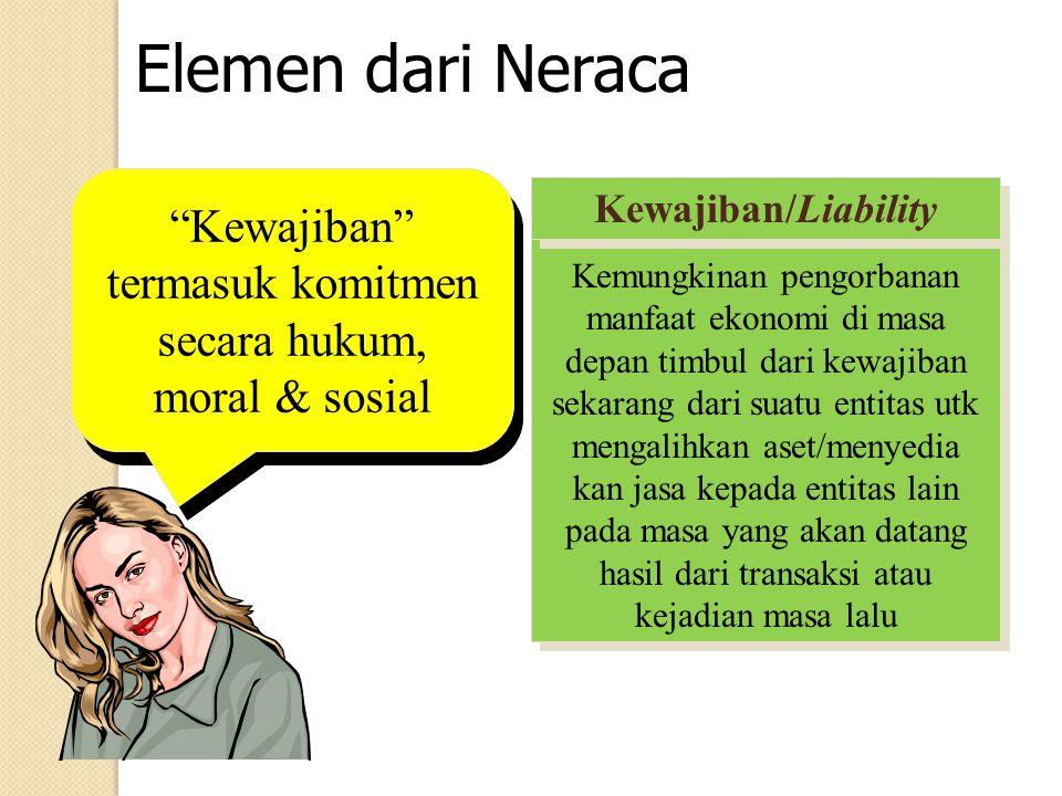 Kewajiban termasuk komitmen secara hukum, moral & sosial