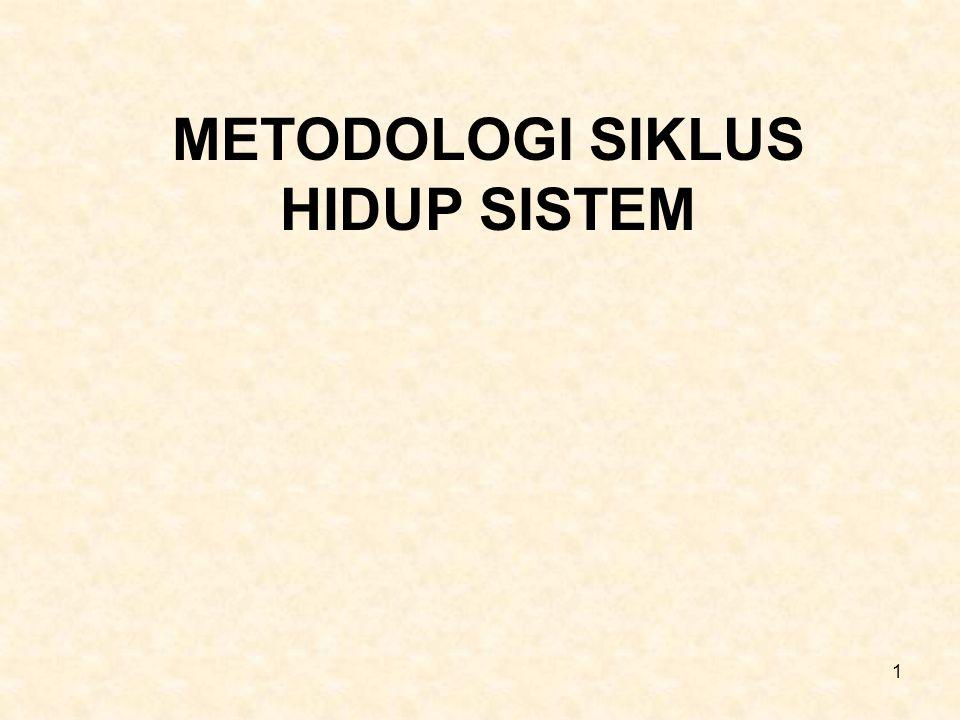 METODOLOGI SIKLUS HIDUP SISTEM