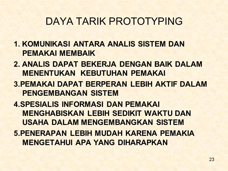 DAYA TARIK PROTOTYPING