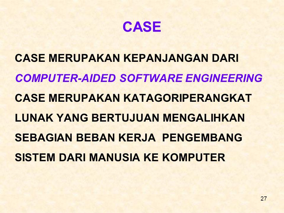 CASE CASE MERUPAKAN KEPANJANGAN DARI