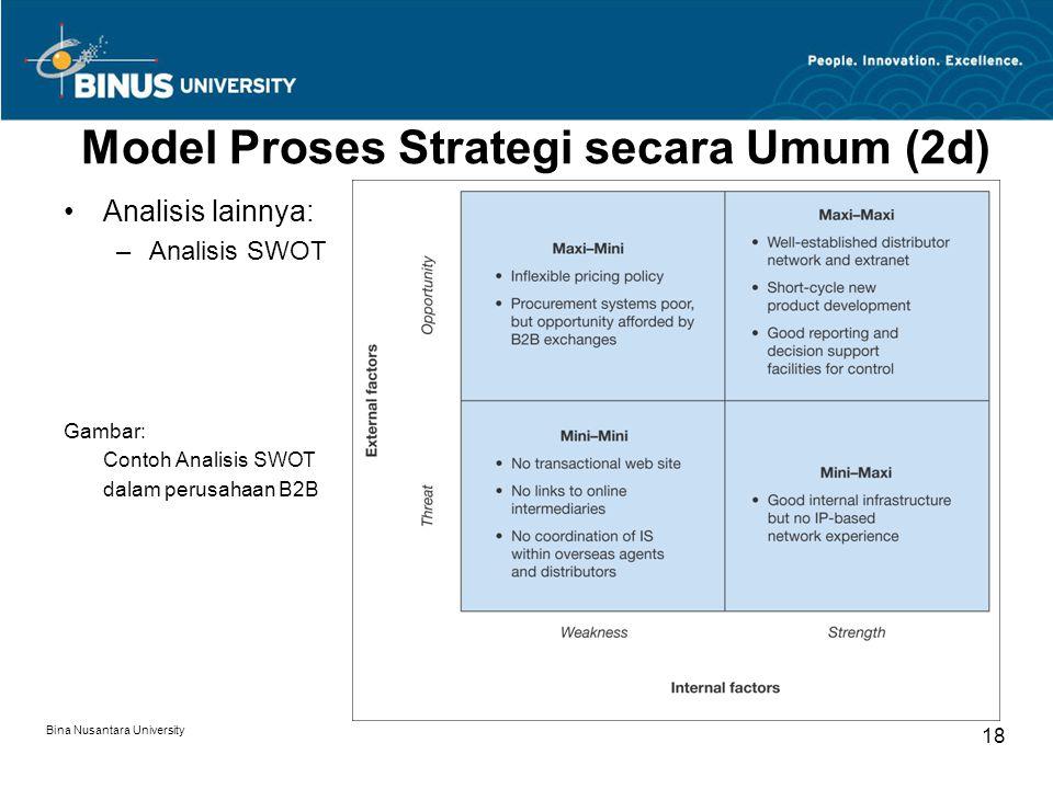 Model Proses Strategi secara Umum (2d)