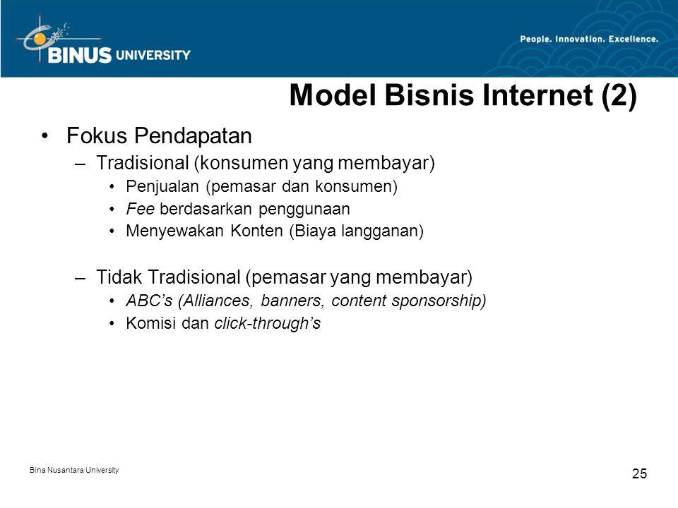 Model Bisnis Internet (2)