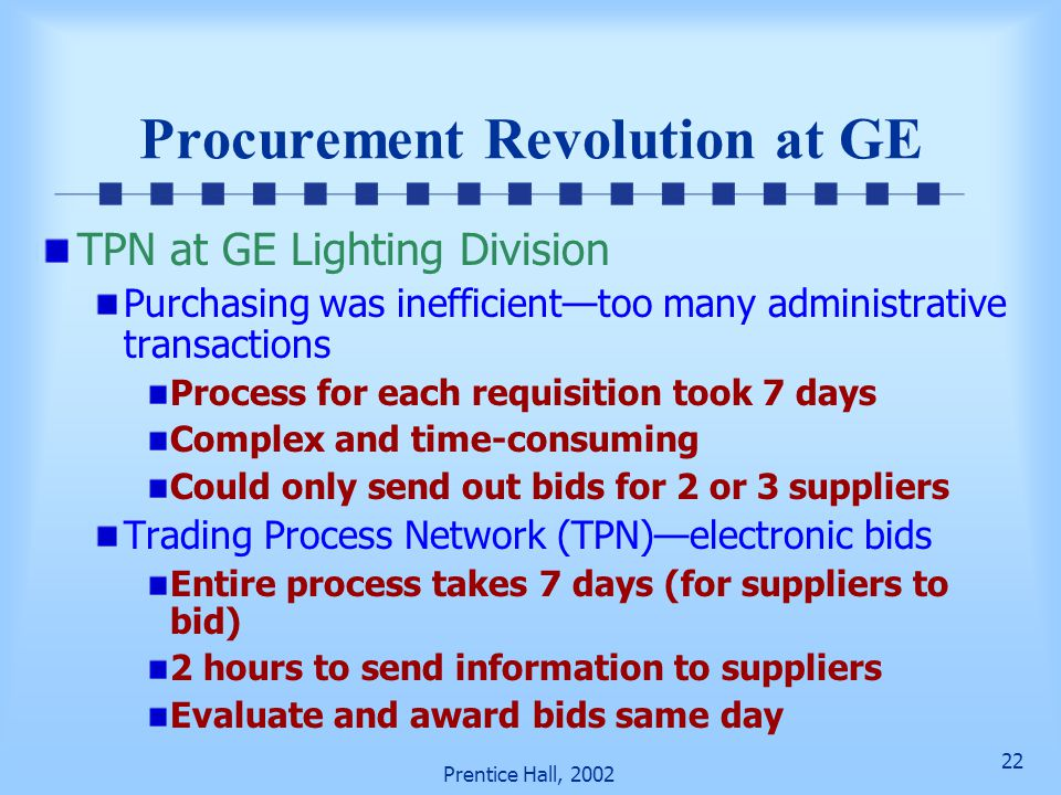 Procurement Revolution at GE