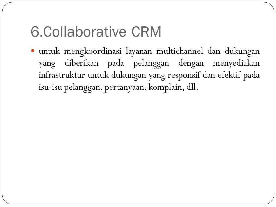6.Collaborative CRM