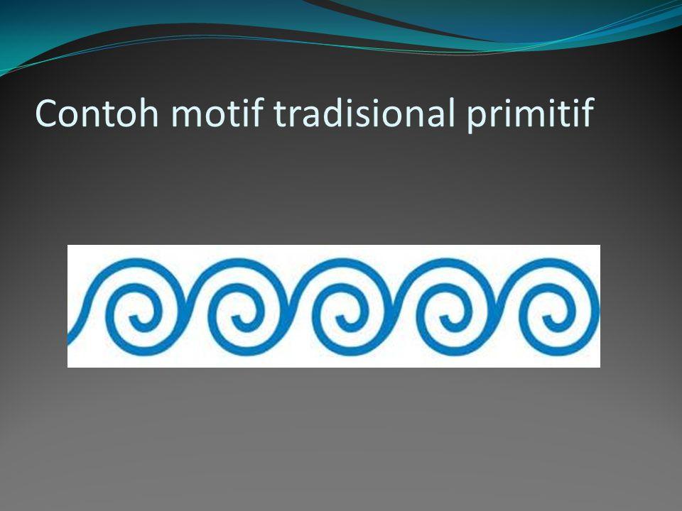 Contoh motif tradisional primitif
