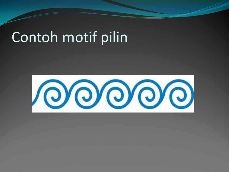 Contoh motif pilin