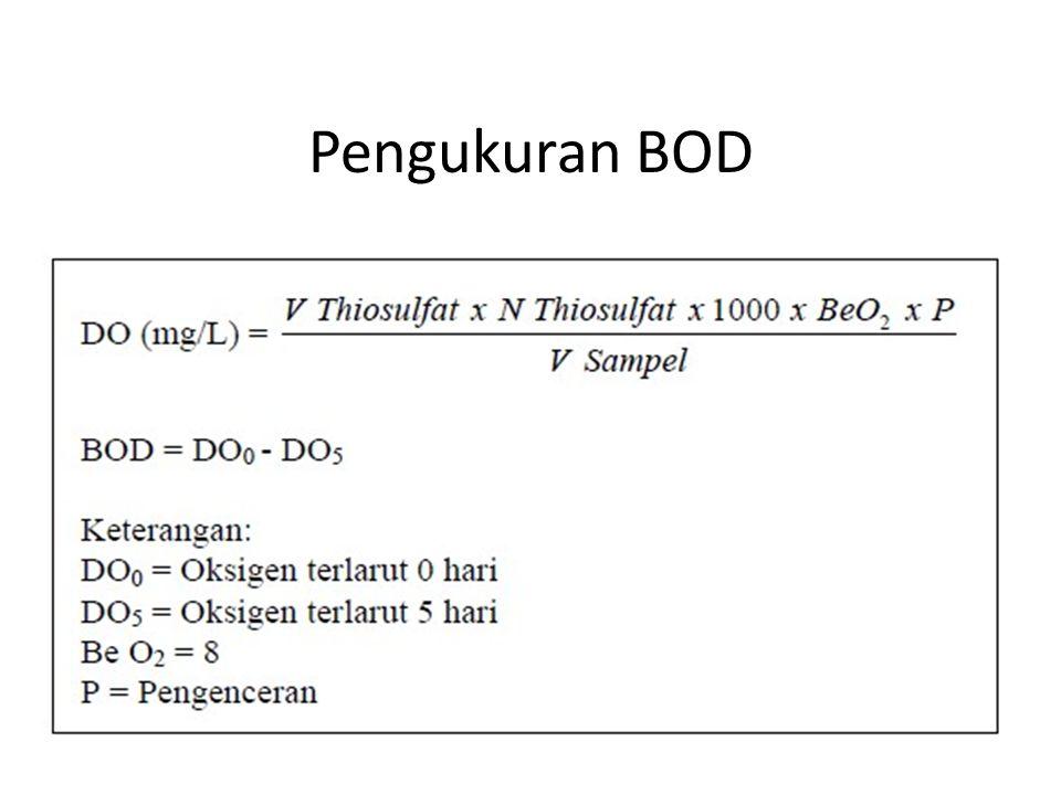 Pengukuran BOD