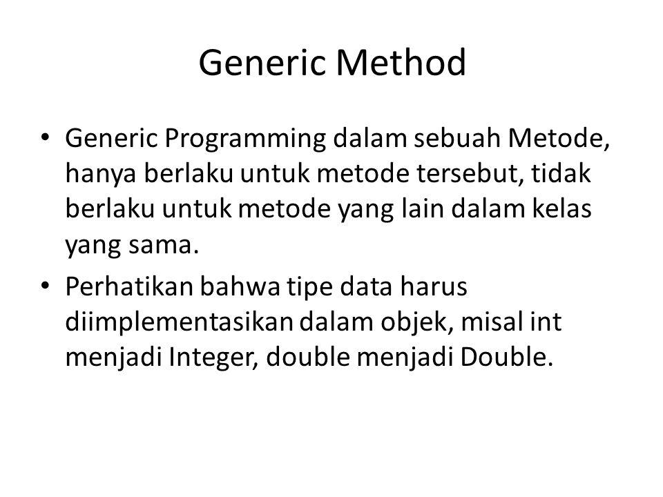 Generic Method