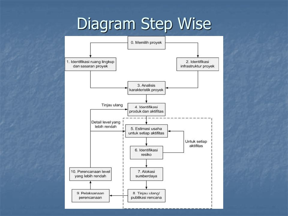Diagram Step Wise