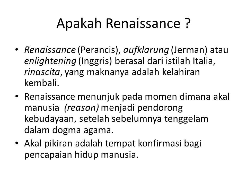 Apakah Renaissance