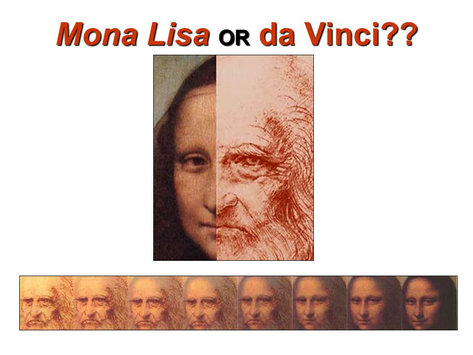 Mona Lisa OR da Vinci