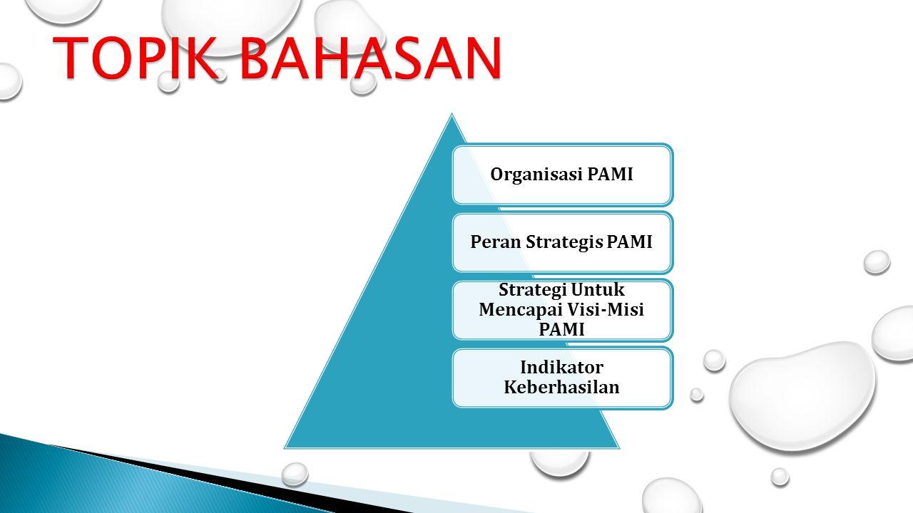 Strategi Untuk Mencapai Visi-Misi PAMI Indikator Keberhasilan
