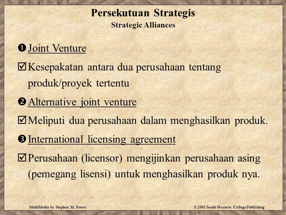 Persekutuan Strategis Strategic Alliances