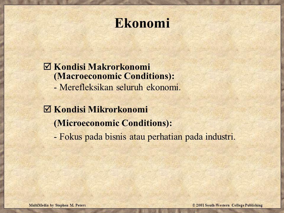 Ekonomi Kondisi Makrorkonomi (Macroeconomic Conditions):