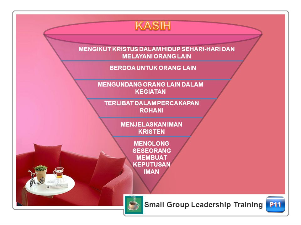 KASIH Small Group Leadership Training P11