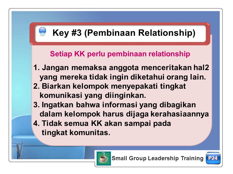 Setiap KK perlu pembinaan relationship