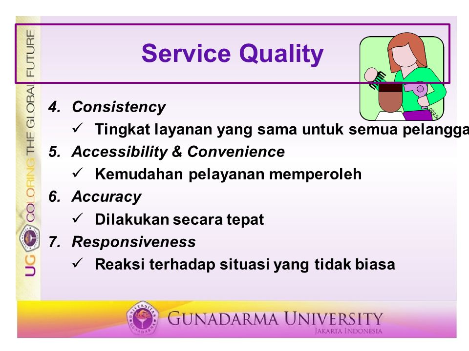 Service Quality Consistency