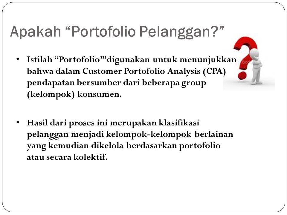 Apakah Portofolio Pelanggan