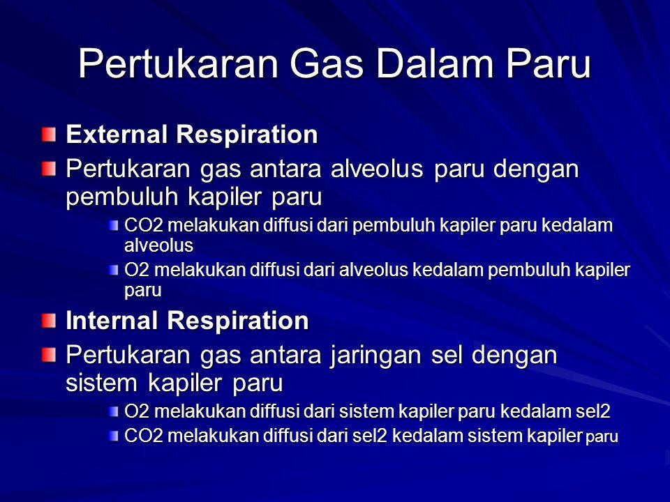 Pertukaran Gas Dalam Paru