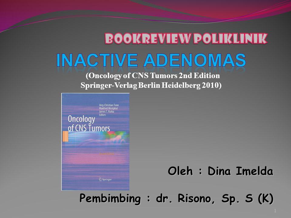 Inactive adenomas Bookreview poliklinik Oleh : Dina Imelda