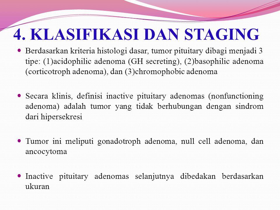 4. KLASIFIKASI DAN STAGING