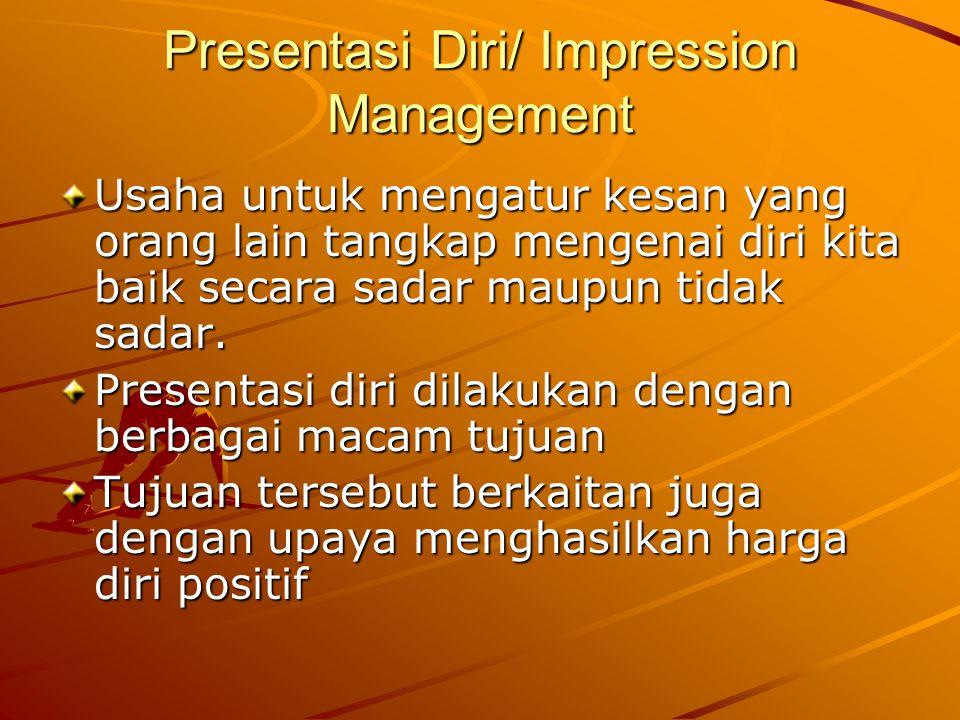 Presentasi Diri/ Impression Management