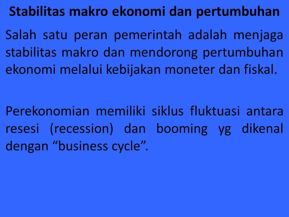 Stabilitas makro ekonomi dan pertumbuhan
