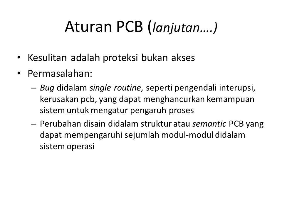 Aturan PCB (lanjutan….)