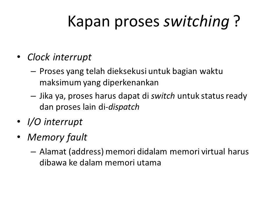 Kapan proses switching