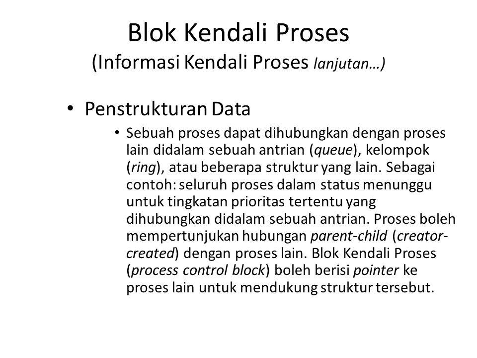 Blok Kendali Proses (Informasi Kendali Proses lanjutan…)