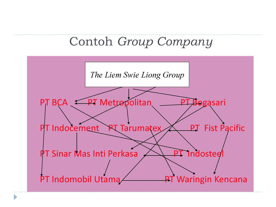 Contoh Group Company
