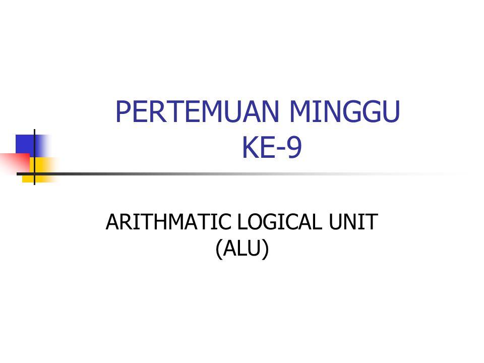 ARITHMATIC LOGICAL UNIT (ALU)