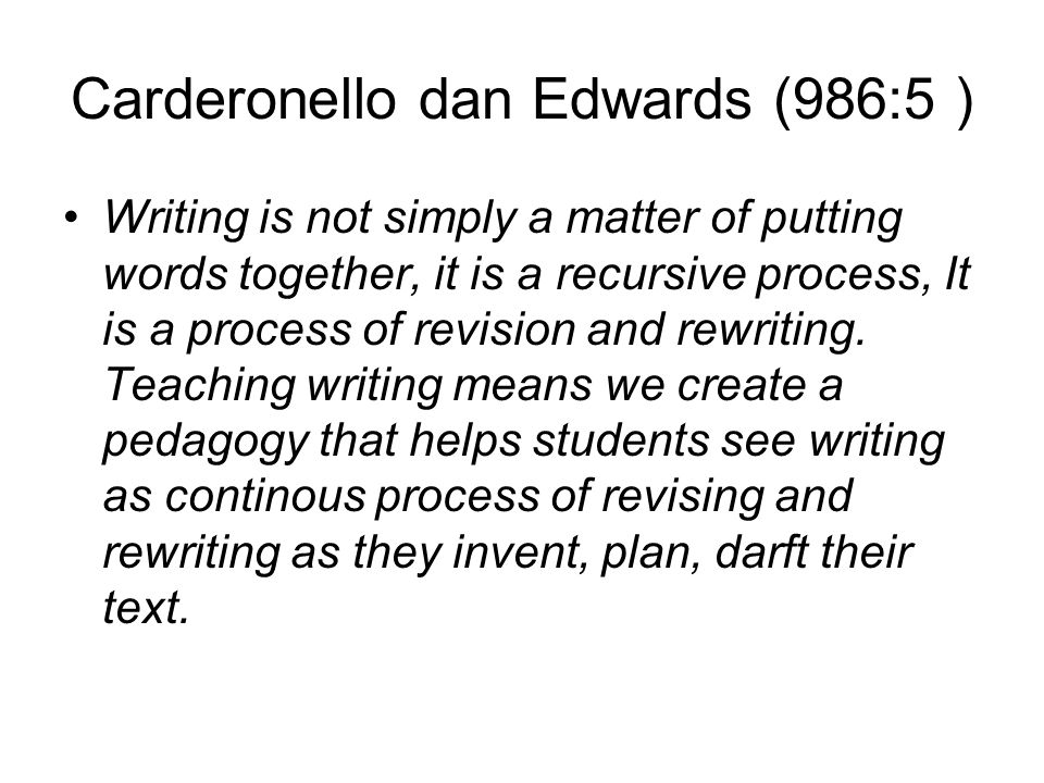 Carderonello dan Edwards (986:5 )