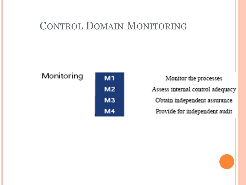 Control Domain Monitoring