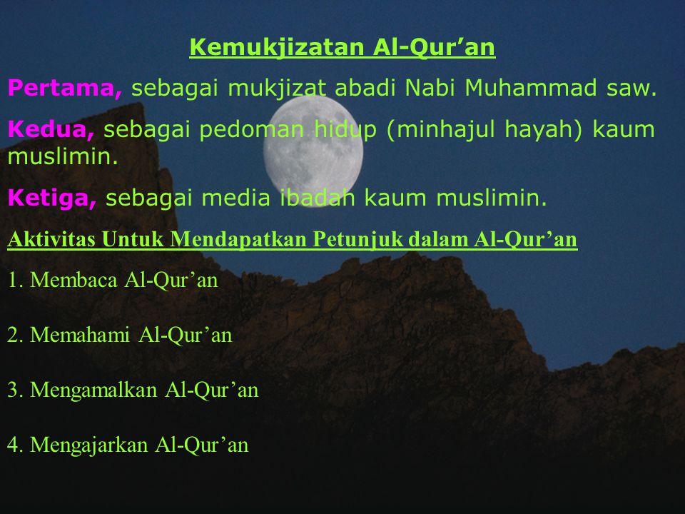 Kemukjizatan Al-Qur'an