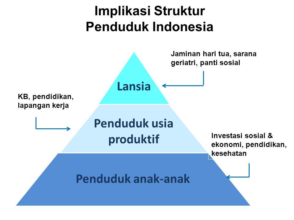 Implikasi Struktur Penduduk Indonesia