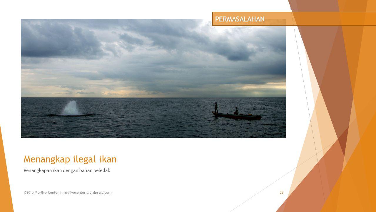 Menangkap ilegal ikan PERMASALAHAN