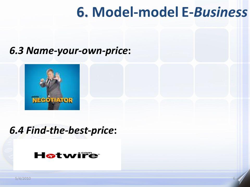 6. Model-model E-Business