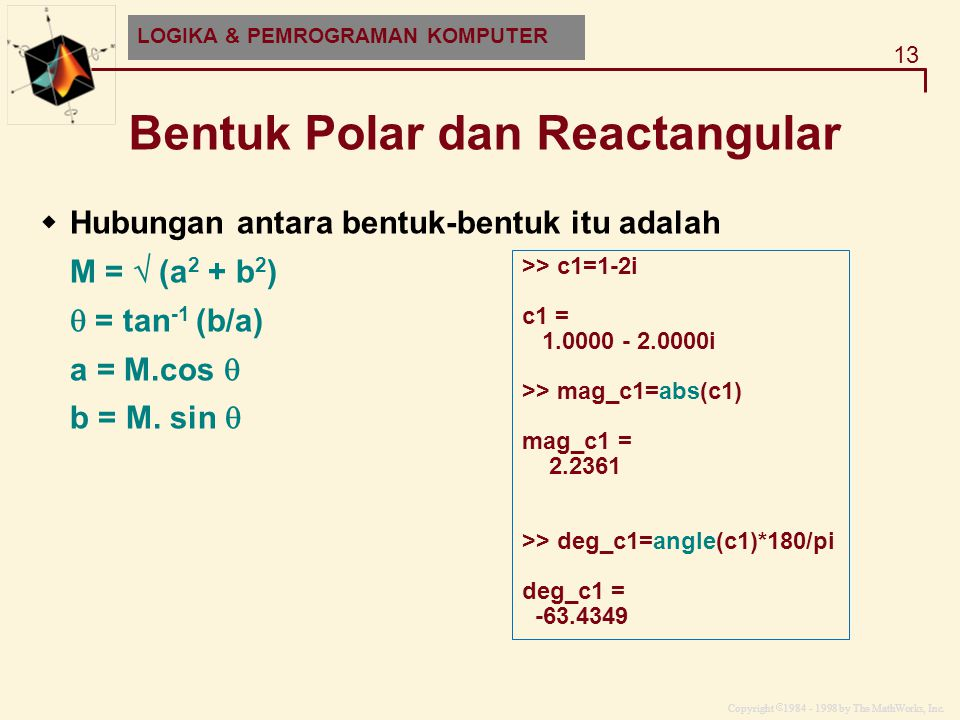 Bentuk Polar dan Reactangular