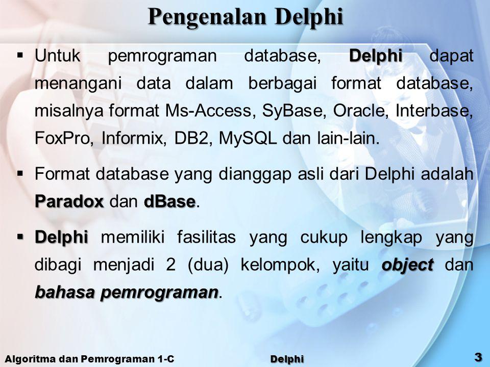 Pengenalan Delphi