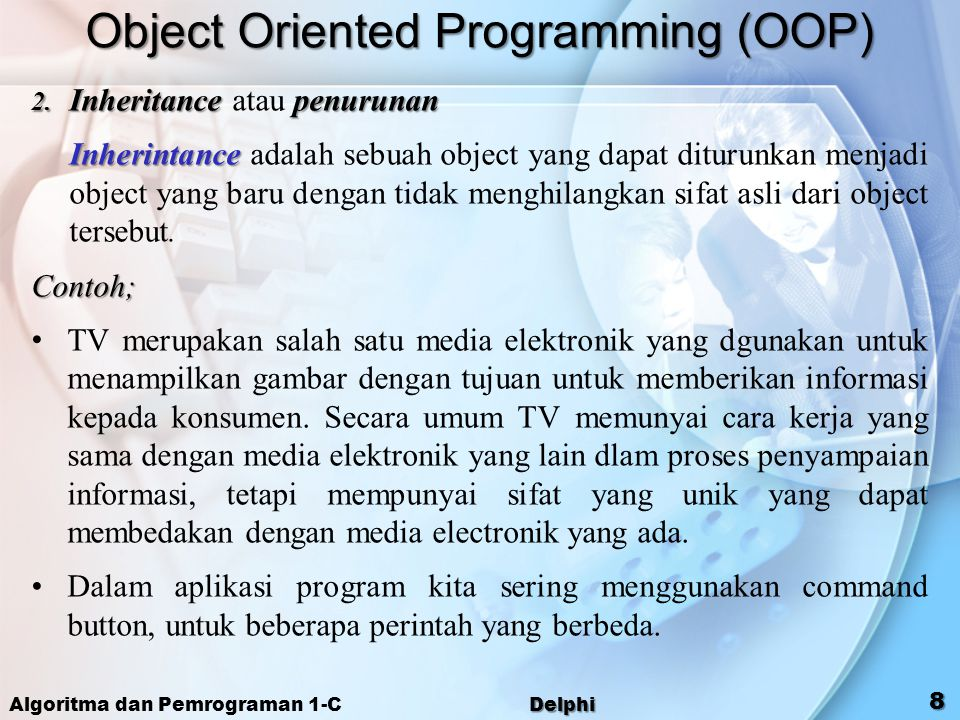 Object Oriented Programming (OOP)