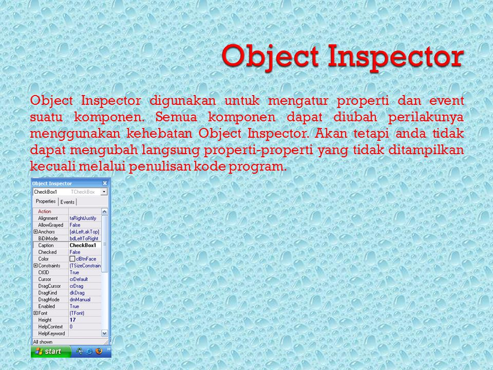 Object Inspector